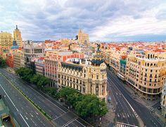 Madrid, de paseo por la Gran Vía