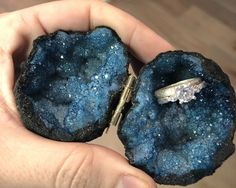 Excited to share this item from my shop: Teal Green Geode Ring Box Engagement Ring Buying Guide, Engagement Ring Settings, Engagement Rings, Geode Jewelry, Crystal Jewelry, Jewellery, Crystal Box, Groomsman Gifts, Fine Jewelry