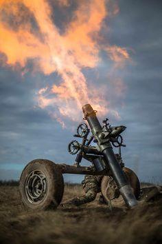 120 mm mortier, lichting 88-5, 42 BLJ in Seedorf