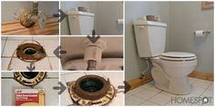 How to clean beneath the toilet and prevent the base from leaking