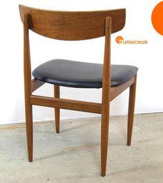 Dining chair by Ib Kofod-Larsen, for G-Plan. Teak & Afromosia, 1962