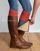 boot cuffs...any basic color (black, brown, gray, tan, etc)