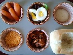Fun, or is it funny?  I like the idea of muffin tin meals!!!