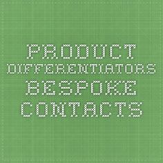 Bespoke Contacts world's first cloud based custom contact data solution