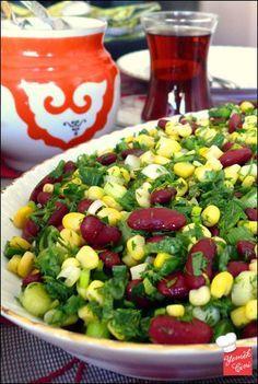 Meksika Fasulyeli Salata