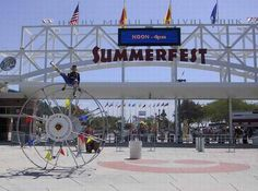 Summerfest in Milwaukee, WI Largest Music fest in the country! 2 weeks of live music!