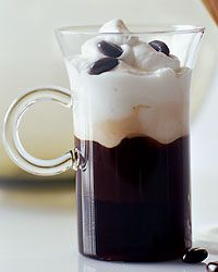 Snowstorm Cafe {coffee + Frangelico + Licor 43 + cognac + unsweetened whipped cream} | Food & Wine