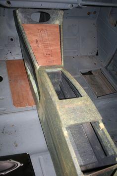 interior work on 49 Chevy Truck