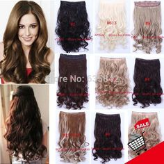 Material: Synthetic Hair Item Type: Hair Extension Items per Package: 1 Piece Only Hair Extension Type: Clip-In Net Weight: 120G Style: Curly Model Number: 20 Colors To Chose Item Type: Hair Extension Hair Extension Type: Clip-In Material: Synthetic Hair Style: Wavy Color: 20 Colors To Chose hair style: 100% Synthetic hair Type: Clip In hair Weight: 120gram Length: 24inch 60cm