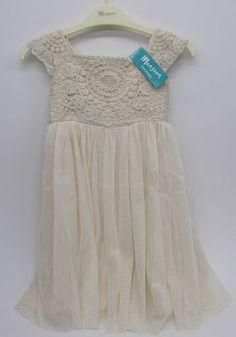 Girls Monsoon Dress Estelle cream ivory party wedding bridesmaid pageant new | eBay
