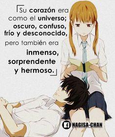 Sad Anime, Anime Love, Kawaii Anime, Manga Anime, Chibi, Words Can Hurt, My Little Monster, Anime Crafts, Love Phrases