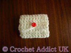 Tooth Fairy Pouch | AllFreeCrochet.com
