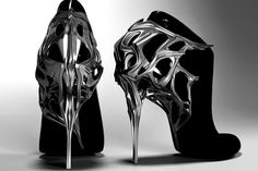 Created by Jorge Funky Shoes, Crazy Shoes, Me Too Shoes, Weird Shoes, Shoe Boots, Shoes Heels, Mode Shoes, 3d Prints, Pumps