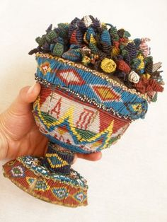 Antique Beaded Decoration Pirin Macedonia Wedding Gift Folk Art 19th Century | eBay