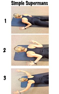 A simple upper back strengthening exercise.