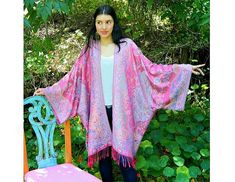 Tutorial: Easy scarf kimono