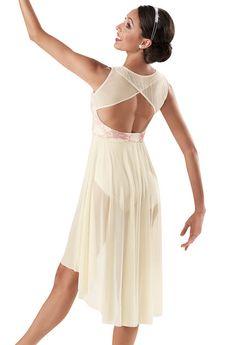 Weissman™ | Lace Mesh High-Low Dress