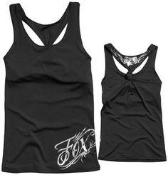 22c52042 Fox Racing Womens Cauz Tech Muscle Tank Small Black | TANK TOPS & CAMIS |  Muscle tank tops, Tops, Tank tops