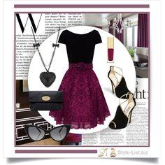 #Cocktail #Dress by http://style-list.biz  Join us on Facebook to get updates: https://www.facebook.com/stylelist.biz