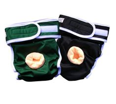 This diaper style is appropriate for male dogs suffering from both bladder and bowel issues that require the protection of a full diaper.     This dog diaper has a highly absorbent microfiber lining, which holds up to 7 times its weight in liquid and a soft waterproof outer shell to protect against leaks - your perfect solution for managing dog incontinence.