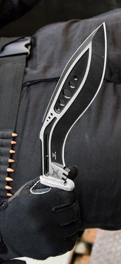 Tactical Kukri Knife Blade @thistookmymoney