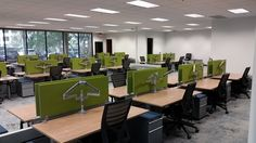 Office Furniture Installation at Malware Bytes   Quality Installers