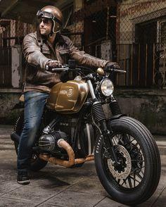 Bmw Brat Style #motorcycles #bratstyle #motos | caferacerpasion.com