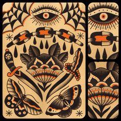 antonioroquetattoos:Antonio Roque. Black Label Tattoo Co. Frederick, MD.
