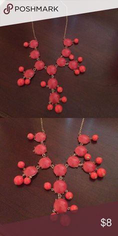 Red bubble necklace Red bubble necklace Jewelry Necklaces