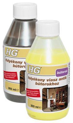 HG folyékony viasz antik bútorokhoz 300 ml, Festék, vegyiáru Tatabánya, lakk, kültéri, beltéri festék, glett, szigetelőanyag
