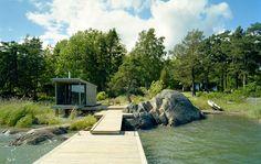 lakeside sauna