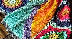 Beautiful Crochet Relaxghan For Good Vibes In Your Life
