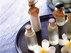 Make your own perfumes from essential oils.