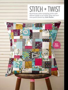 Stitch & Twist by Julie Rutter - Love Patchwork & Quilting, Issue 18