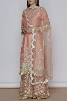 Pakistani Dress Design, Pakistani Outfits, Indian Outfits, Indian Party Wear, Indian Wear, Sharara, Anarkali, Bollywood Dress, Bridal Dress Design