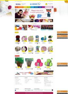 Magazinul online de fire si accesorii de tricotat ROSA - www.firerosa.ro