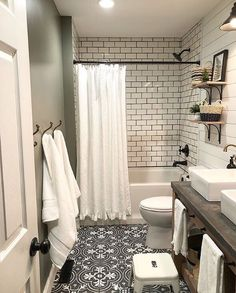 small bathroom Choosing bathroom flooring is far different from choosing flooring in other parts of the house - May 11 2019 at Bathroom Renos, Basement Bathroom, Bathroom Flooring, Bathroom Ideas, Bathroom Cabinets, Bathroom Makeovers, Master Bathroom, Kitchen Flooring, Attic Bathroom