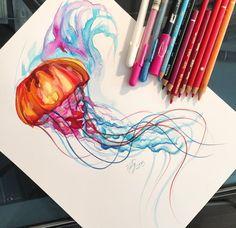 50- Jellyfish by Lucky978.deviantart.com on @DeviantArt