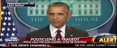 """10-02-2015  President Barack Obama ridiculed opponents of gun control Thursday, hours after a shooter in Oregon killed 10 people at a community college. Standing at a podium in the White House briefing room, the visibly frustrated president voiced alarm at what he said has become """"routine"""" in America. """"Somebody somewhere will comment and say, 'Obama politicized …"""