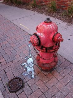 Chalk Art by David Zinn 16