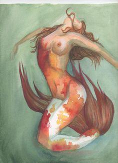 Koi Mermaid, by Sarah Hepler, 2014