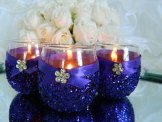 gorgeous wedding candles