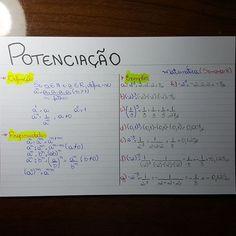 Matemática - Potenciação
