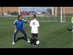 Soccer Training - Defending Technique 1 - YouTube