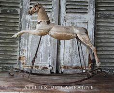 Wooden Horse... gonna get me one.. love these