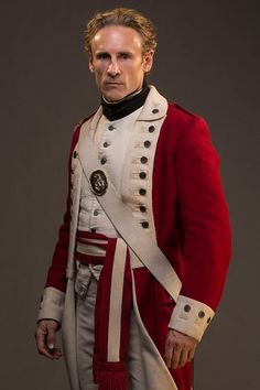 Sergeant Timmins from BBC Two's Banished, played by Cal MacAninch.