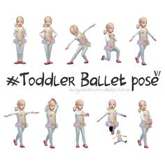 toddler ballet pose by daisylove126  * 2 kinds of toddler pose file (CAS / IN GAME)  * 10 poses  * slingy trait  * You need Andrew's pose player  ★ Do not re-upload, re-distribute.  Download is here  I hope you like it *❀꒰⋆ᶿ̴͈᷇⌣ᶿ̴͈᷆⋆꒱ఇ