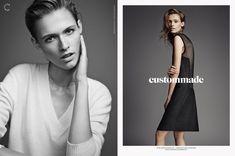 Custommade Spring/Summer 2015 campaign, Photography Hasse Nielsen, Art direction Homework, Model Emma Oak