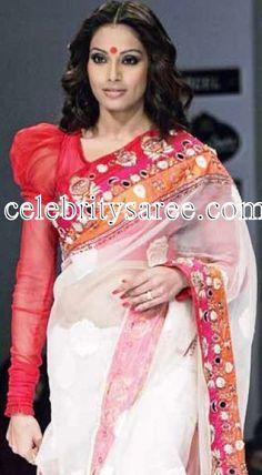 Bipasha Basu Designer Sarees Collection   Saree Blouse Patterns