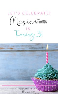 Music with Miss W is turning In addition to a fun birthday giveaway, there are a few exciting changes that you can take advantage of: Sight Singing, Music Theory Worksheets, Music Jokes, High School Band, Inspirational Music, Elementary Music, Music Classroom, Lets Celebrate, Music Education